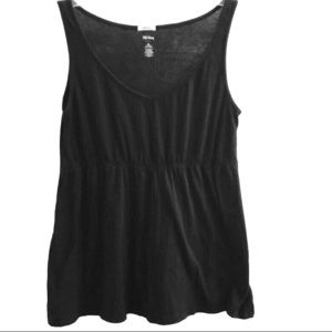 Old Navy Perfect fit Tank Top, V neck, black XL
